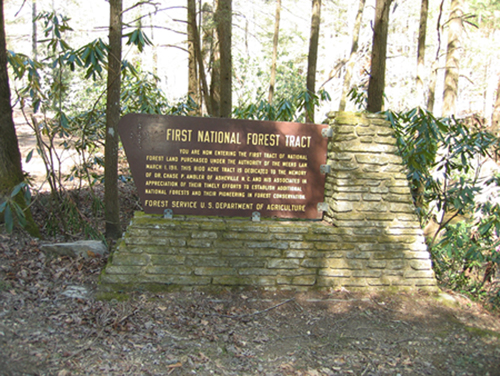 First National Forest Tract-Weeks Act