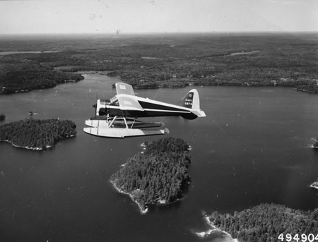 Forest Service Beaver Fire Patrol Planes, July 1960