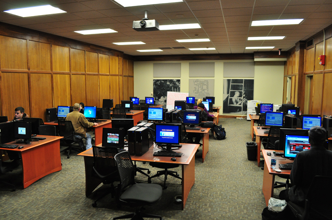First Floor Computer Lab