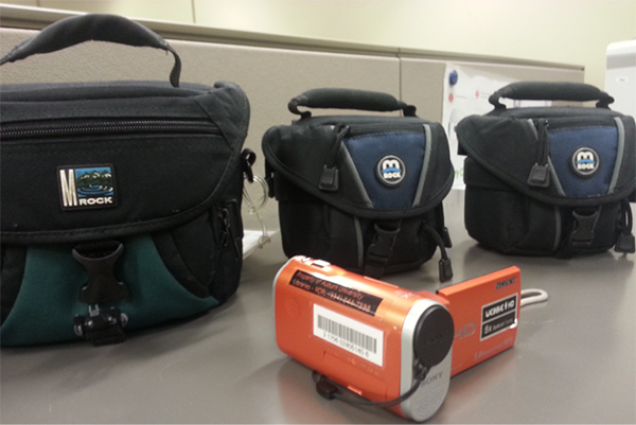 Compact digital camera and carry cases