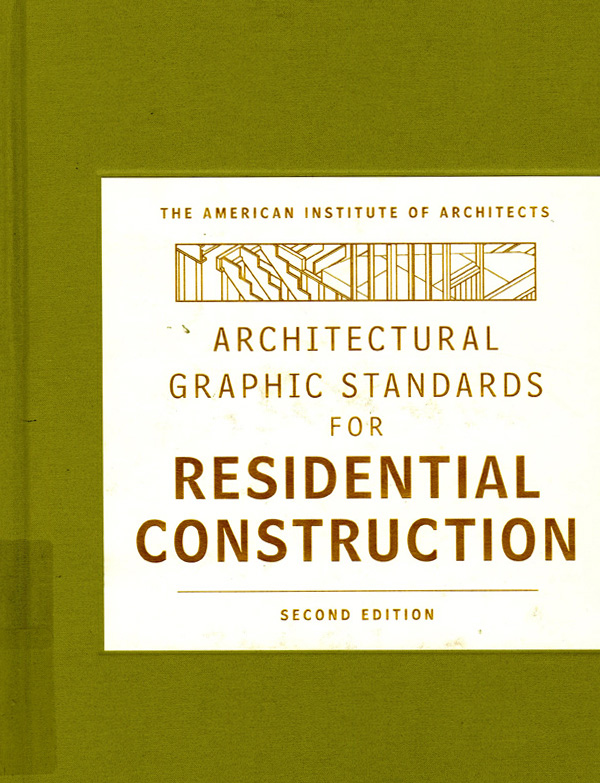 ArChStandards for Residential Construction