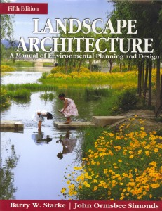 Landscape Architecture a Manual of Environmental Planning and Design