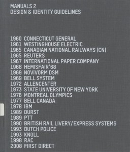 Manuals 2 Design & Identity Guidelines