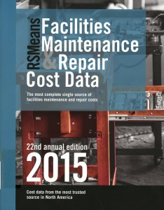 Facilities Maintenance Repair Cost Data
