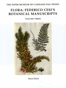 Flora--Federico Cesi's Botanical Manuscripts Vol. 3