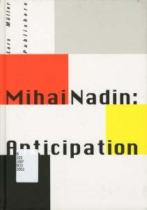 Mihai Nadin--Anticipation