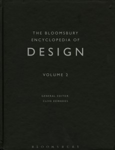 The Bloomsbury Encyclopedia of Design (Vol 2)