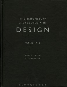 The Bloomsbury Encyclopedia of Design (Vol 3)