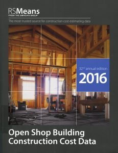Open Shop Building Construction Cost Data